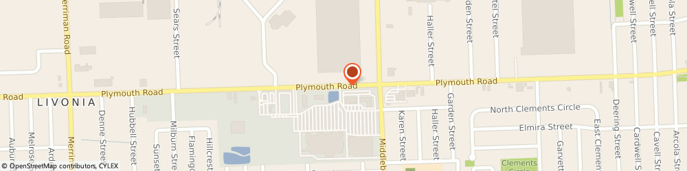 Route/map/directions to Beltone Hearing Care Centers, 48150 Livonia, 29699 PLYMOUTH ROAD