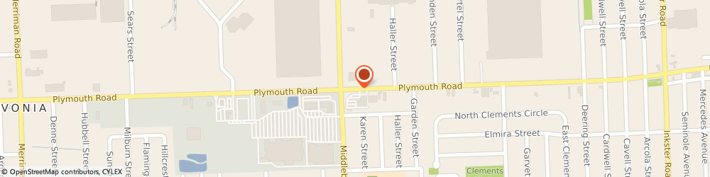 Route/map/directions to Avenue, 48150 Livonia, 29340 Plymouth Rd