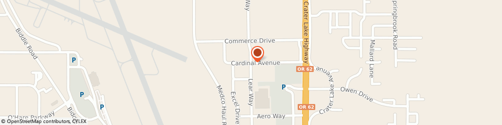 Route/map/directions to Safeco Insurance Agent, 97504-9746 Medford, 2045 Cardinal Ave