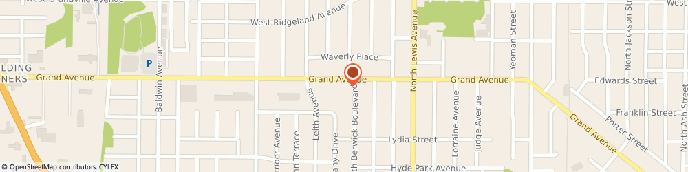 Route/map/directions to Domino's Pizza, 60085-3310 Waukegan, 2211 Grand Ave