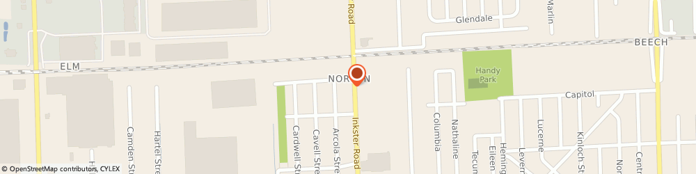 Route/map/directions to a & d Yard Accents, 48150 Livonia, 12275 INKSTER ROAD