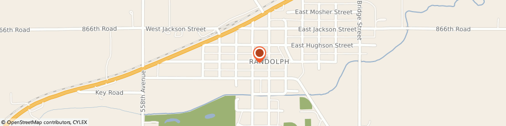 Route/map/directions to Progressive Insurance, 68771 Randolph, 111 S Douglas