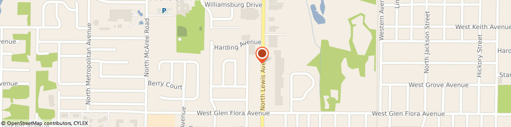 Route/map/directions to Burger King, 60085 Waukegan, 1510 North Lewis Ave