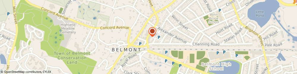 Route/map/directions to Starbucks Coffee - Belmont, 02478 Belmont, 47 Leonard St.