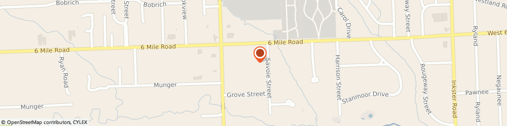 Route/map/directions to Sacred Heart Byzantine Catholic Church, 48152 Livonia, 29125 6 MILE ROAD
