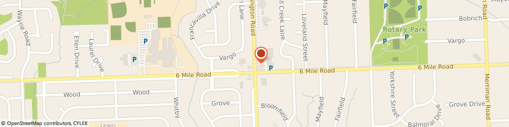 Route/map/directions to Beltone Hearing Aid Center, 48152 Livonia, 18475 Farmington Rd