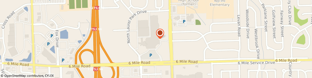 Route/map/directions to Express, 48152 Livonia, 37608 Six Mile Rd