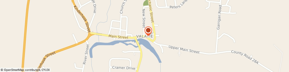 Route/map/directions to U-Haul Co, 12184 Valatie, 2880 RT 9 STOP #4