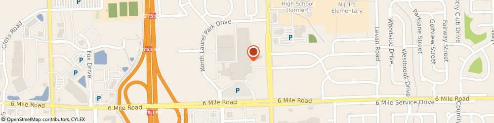 Route/map/directions to Talbots, 48152 Livonia, 37584 W 6 Mile Rd