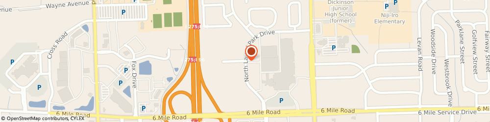 Route/map/directions to Pearle Vision, 48150 Livonia, LAUREL PARK