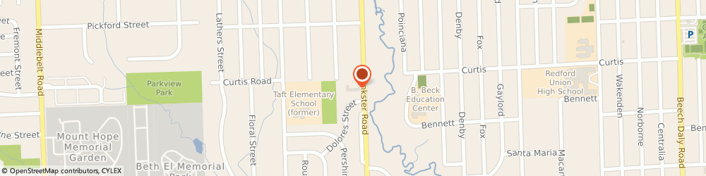 Route/map/directions to First Baptist Church Of Livonia, 48152 Livonia, 17725 Inkster Rd