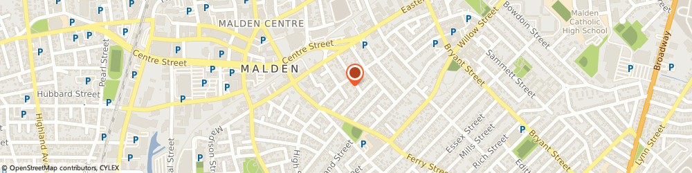 Route/map/directions to Young Israel Of Malden Inc, 02148 Malden, 45 HOLYOKE ST