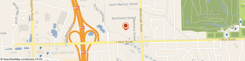 Route/map/directions to Learning Tree Child Care Center, 48152 Livonia, 37550 Seven Mile Rd
