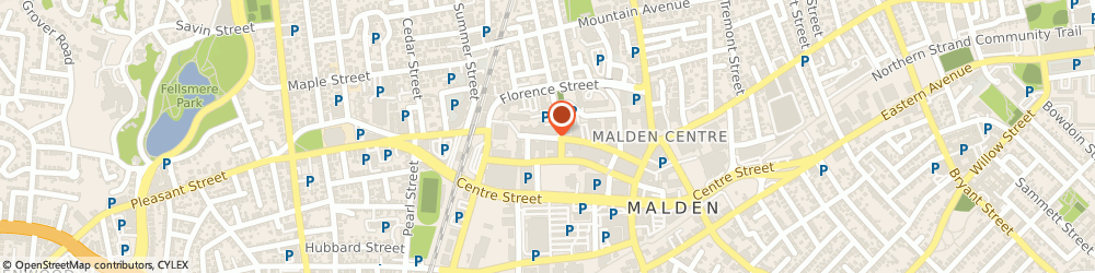 Route/map/directions to Malden Access TV, 02148 Malden, 145 PLEASANT ST