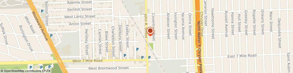 Route/map/directions to Fire Equipment Company, 48203 Detroit, 20100 John R Street