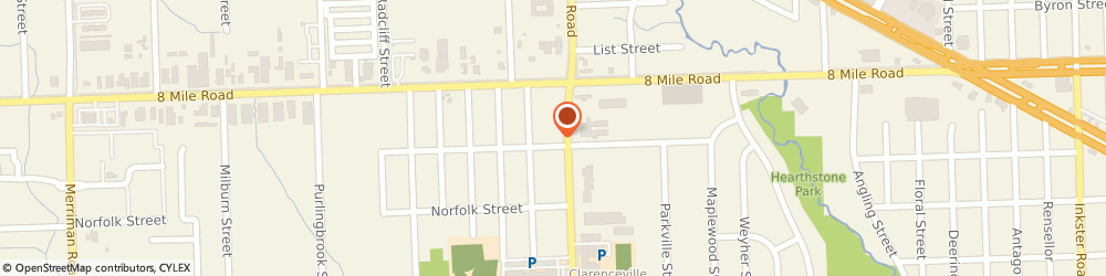 Route/map/directions to United Rent  All  Inc, 48152 Livonia, 20405 Middlebelt Road