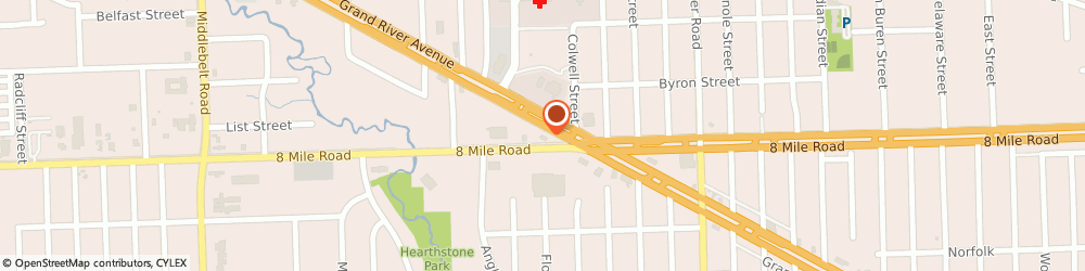 Route/map/directions to Dunkin', 48336 Farmington Hills, 27919 Grand River Ave