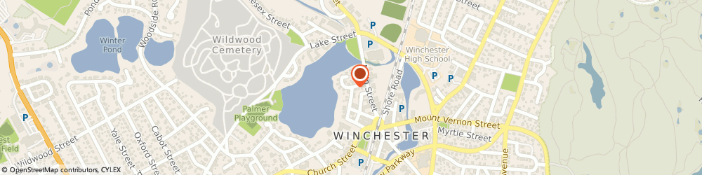 Route/map/directions to Living Peace, 01890 Winchester, 4 WEDGE POND RD