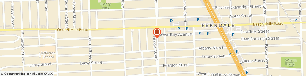 Route/map/directions to Ferndale Fire Dept, 48220 Ferndale, 1635 LIVERNOIS ST