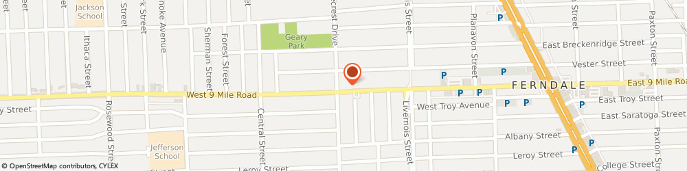 Route/map/directions to CITIBANK ATM, 48220 Ferndale, 1040 West 9 Mile Rd.