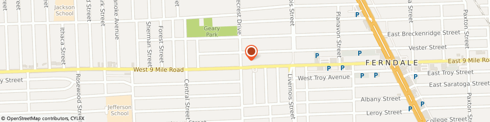 Route/map/directions to Citibank ATM, 48220 Ferndale, 1040 W Nine Mile Rd