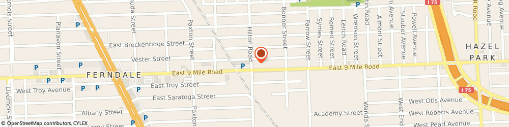 Route/map/directions to Citibank ATM, 48220 Ferndale, 805 E Nine Mile Rd