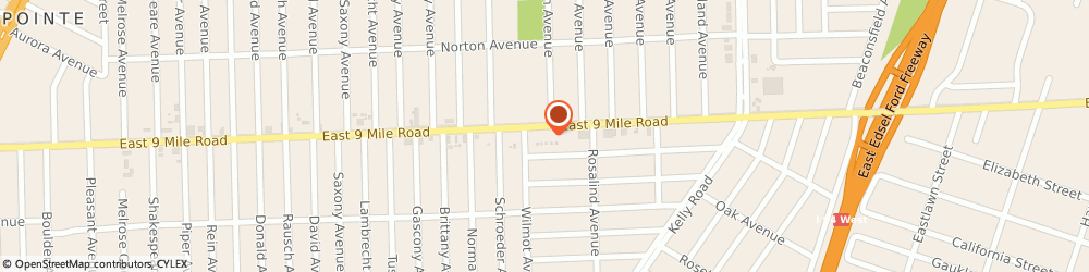 Route/map/directions to Sheet Metal Specialties, 48021 Eastpointe, 18034 EAST 9 MILE ROAD