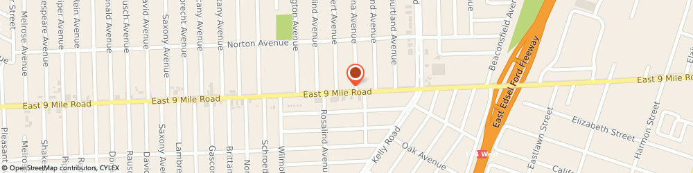 Route/map/directions to Affordable Doors, 48021 Eastpointe, 18325 EAST 9 MILE ROAD