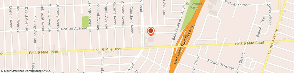 Route/map/directions to Emanuel J Rothis Dds, 48021 Eastpointe, 22770 Kelly Rd 1