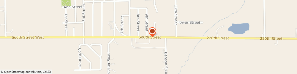 Route/map/directions to Jesup Bible Fellowship, 50648 Jesup, 152 South St