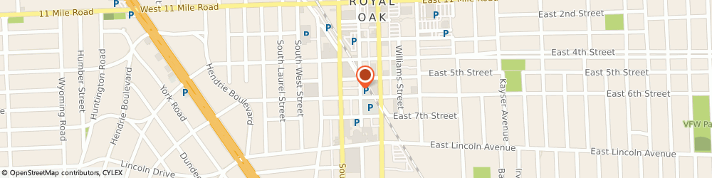 Route/map/directions to Elements Custom Jewelry Studio, 48067 Royal Oak, 512 South Center Street