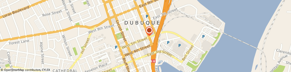Route/map/directions to Safeco Insurance Agent, 52001-4835 Dubuque, 500 Iowa St
