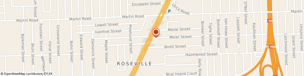 Route/map/directions to Xcell Jewelers, 48066 Roseville, 27700 Gratiot Ave