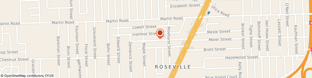 Route/map/directions to Ryder Truck Rental & Leasing, 48066 Roseville, STREET