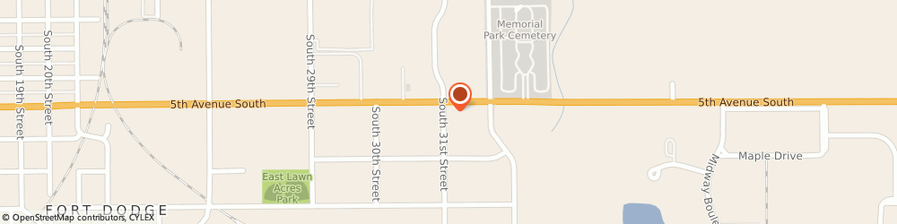 Route/map/directions to Navy Federal Credit Union, 50501 Fort Dodge, 3105 5Th Ave South