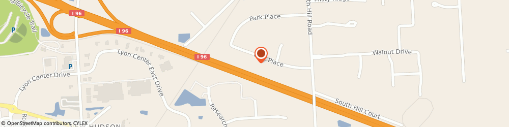 Route/map/directions to Ann Arbor Perma-Glaze, 48165 New Hudson, 55386 Park Pl