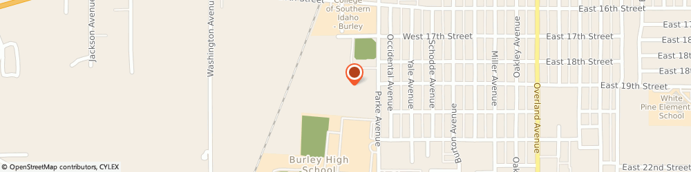 Route/map/directions to Hansen Kyle Masonry Incorporated, 83318 Burley, STREET