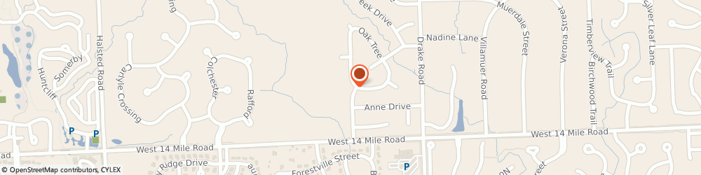 Route/map/directions to Event-Ayd Systems, 48322 West Bloomfield, 7396 Camelot Dr