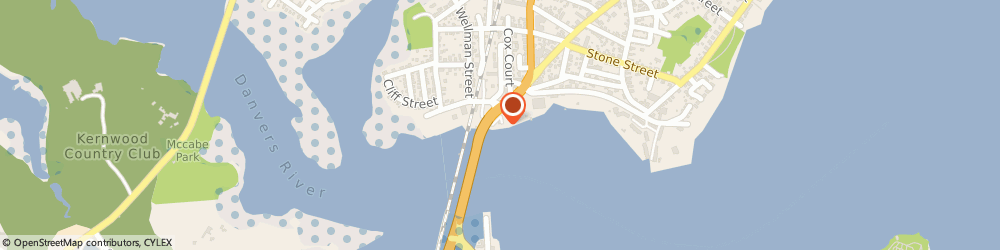 Route/map/directions to Beverly Harbor Master, 01915 Beverly, 11 CABOT ST