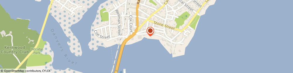 Route/map/directions to North Shore Charters, 01915 Beverly, 43 WATER ST