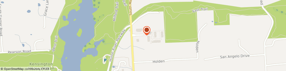 Route/map/directions to Law Office of Melissa M Pearce PLC, 48381 Milford, 1100 Corporate Office Dr