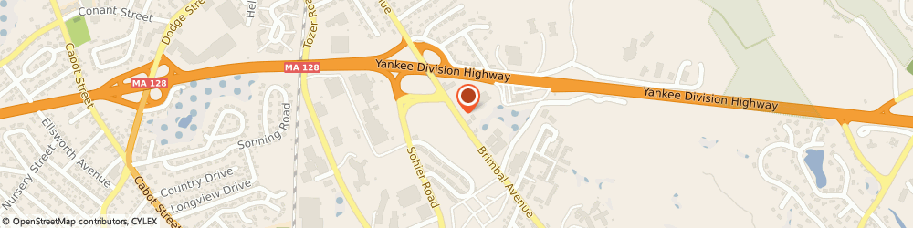 Route/map/directions to Citizens Bank ATM, 01915 Beverly, Sunoco Aplus, 131 Brimbal Avenue