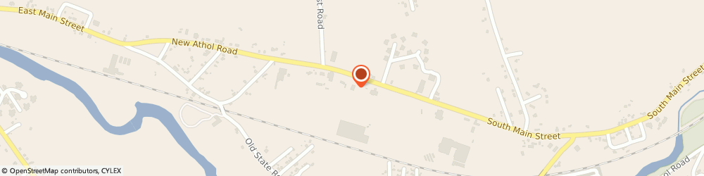 Route/map/directions to Spectrum, 01364 Orange, 104 New Athol Rd