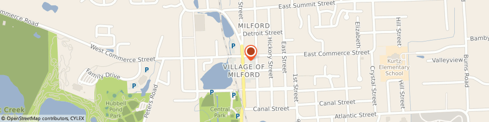 Route/map/directions to Animal Professional Incorporated, 48381 Milford, PO BOX 129