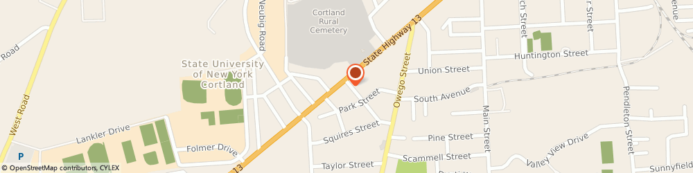 Route/map/directions to Memorial Baptist Church Inc, 13045 Cortland, 125 TOMPKINS ST