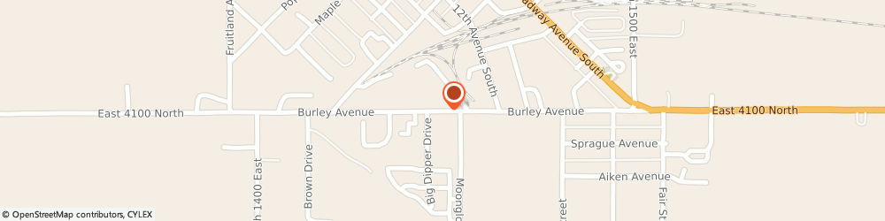 Route/map/directions to Top Hat Chimney, 83318 Burley, STREET