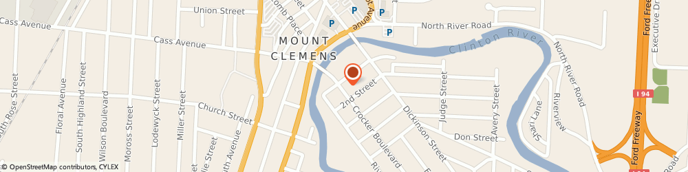 Route/map/directions to The Milianis Insurance Group, 48043 Mount Clemens, 35 Crocker Blvd, Suite-A