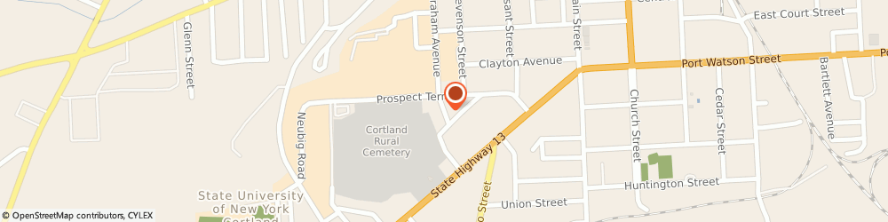 Route/map/directions to Newman Hall Catholic Center, 13045 Cortland, 8 CALVERT STREET
