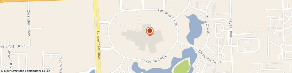 Route/map/directions to Kay Jewelers, 48313-1356 Sterling Heights, 14600 Lakeside Cir.