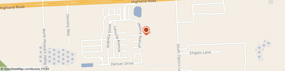 Route/map/directions to Brock Mechanical, 48353 Hartland, 1680 Helena Avenue